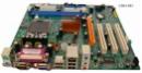 ECS PTM661FX-AA + Celeron 2,66 GHz + Kühler + ATX Blende