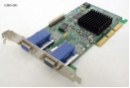 Matrox G450 G45+MDHA16D0E6F 5065-8954 16MB Grafikkarte passive Kühlung AGP 2xVGA