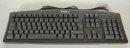 Dell RT7D20 Tastatur 104 Tasten DE deutsch QWERTZ PS/2 PS2 DP/N 05N286 schwarz