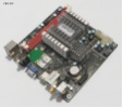 Zotac NM10-ITX WiFi NM10 mini ITX Atom 1.66 GHz DDR2 HDMI 2xWLAN 8xUSB PCIe COM