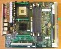 Dell 0CG566 Mainboard Intel Sockel 478 AGP VGA PCI Sound SATA USB IDE DDR RAM