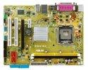 ASUS P5N-MX Motherboard inklusive CPU Intel Celeron 2,66 GHz