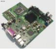 Dell Optiplex 760 USFF Motherboard 775 DDR2 SATA Q43 C2D LPT COM GMA 4500 7x USB