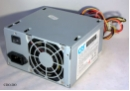 CRS MEC-6300 350 Watt ATX Power Supply 80mm FAN 1x 20p 1x P4 4x HDD 2x FDD 1x AUX