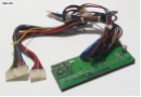 DD-5102-1 Rev A Power Distribution Board Backplane DD 5102 1 24-pol  4x Molex