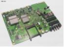 Toshiba V28A00101901 Monitor Platine 4x HDMI LAN 2x SCART VGA USB 2.0 Audio NEW