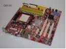 mATX Mainboard AMD Sockel AM2 DDR2 PCIe PCI VGA DVI LAN USB FireWire + Blende
