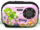 Easypix W318 Bubble Belle 3MPX 3M Wasserdicht Kamera 8x digitaler Zoom pink NEW