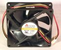 Y.S. Tech FD128025LS-N FD128025LS N 80mm Case Fan 12V 0.08A 3-pol DC Brushless