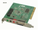 Ensonic AUDIO PCI 5200 Soundcard Sound Line-IN Line-Out Mic-IN Midi Gameport