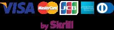Zahlung per Kreditkarte via Skrill-Logo